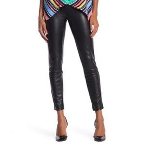 Laundry Pull-On Leather Pants